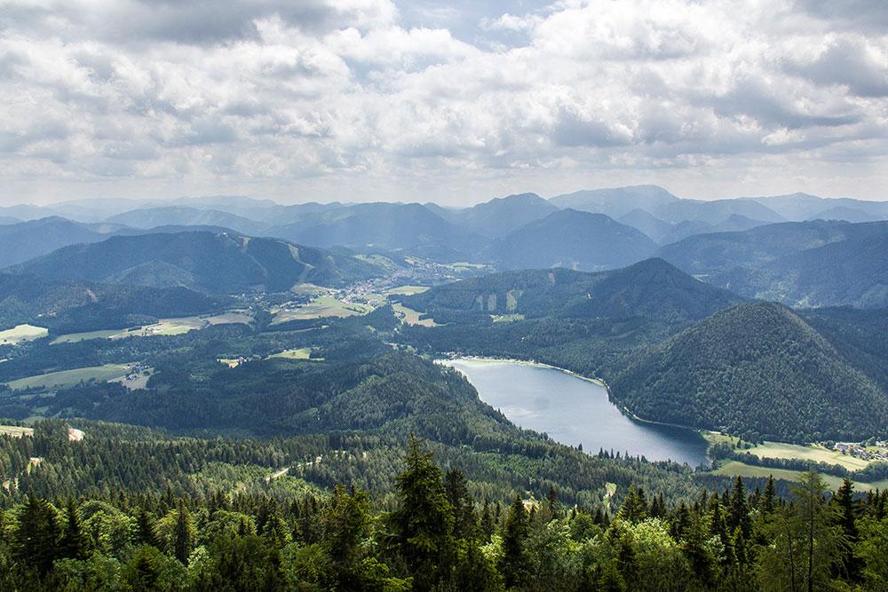 Blick von der Gemeindealpe